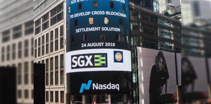 Singapore and Nasdaq Partnership for Blockchain Settlement of Tokenised Assets