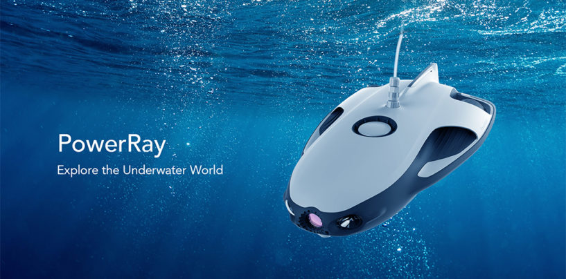 World's First Underwater Drone Launched in Singapore