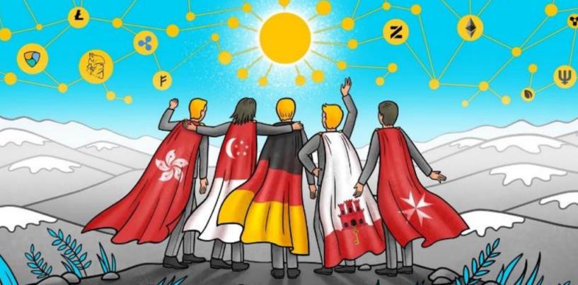 Top-5 Countries to Setup Fintech & Blockchain Startups