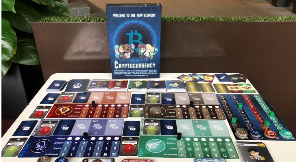 cryptocurrency singapore board game kickstarter monopoly