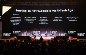 Banking on New Models in the Fintech Age, 2018 Singapore Fintech Festival Panel Discussion