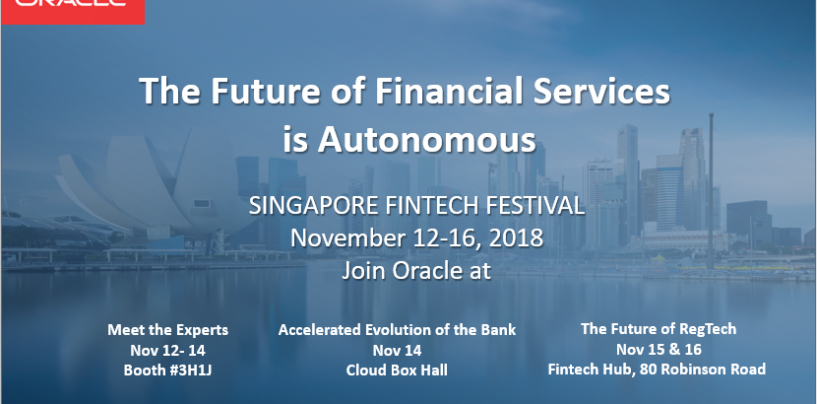 FSI's Future Is Autonomous, Oracle Wants to Help You Navigate it