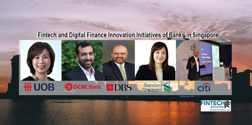 Fintech and Digital Finance Innovation Initiatives of Banks in Singapore