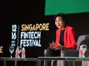 Tan Hooi Ling, Co-Founder, Grab, 2018 Singapore Fintech Festival
