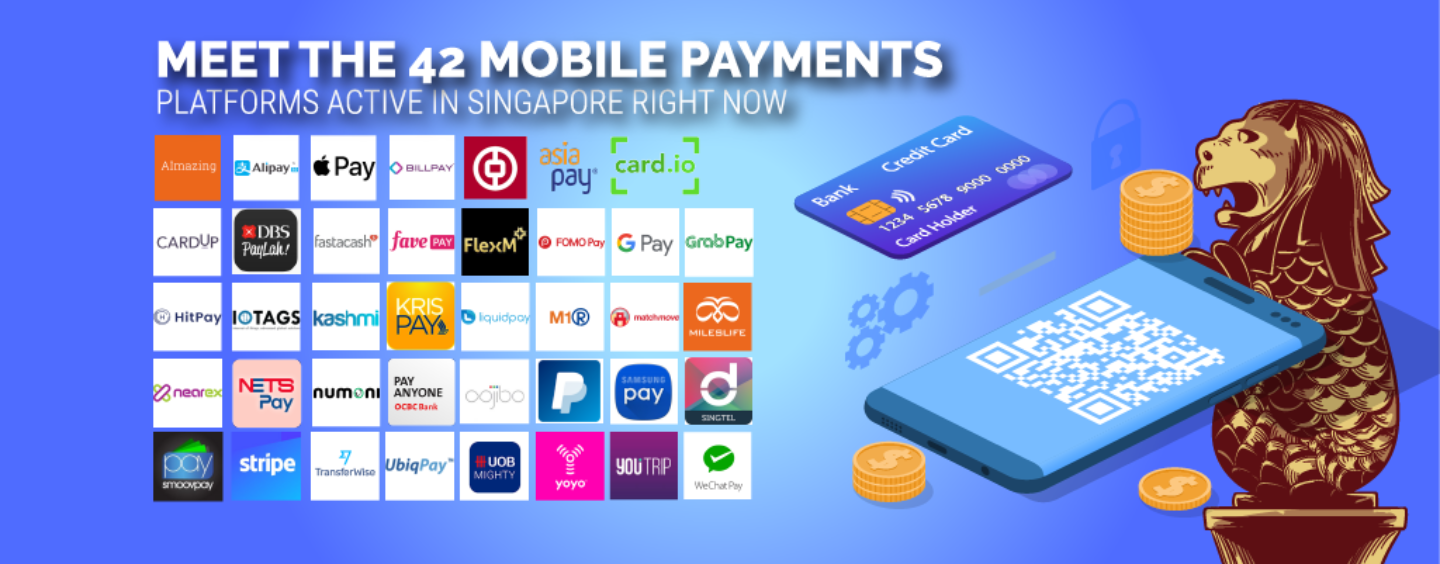 Meet 42 Mobile Payment Players Active in Singapore Right Now