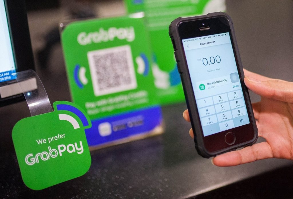 grabpay grab myanmar e-wallet payments