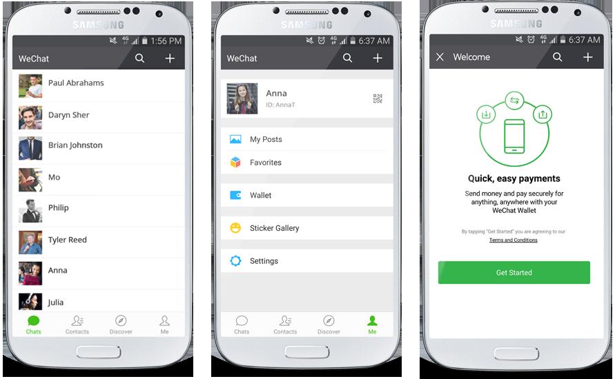 WeChat Wallet, via WeChat