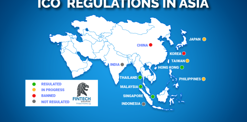 STO & ICO Regulations in Asia: 2019 Edition