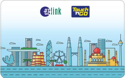 ez-link touch 'n go card multi currency joint combi card