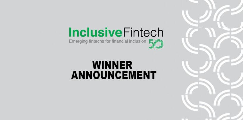 Winners of Inclusive Fintech 50