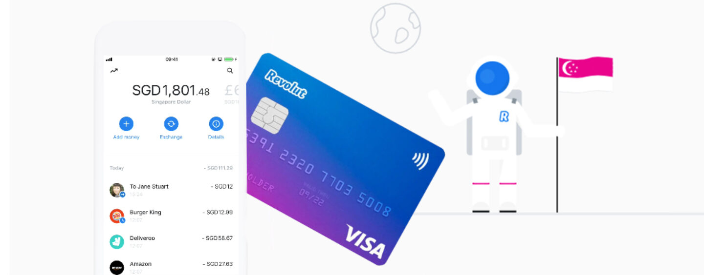 Revolut Finally Launches in Singapore
