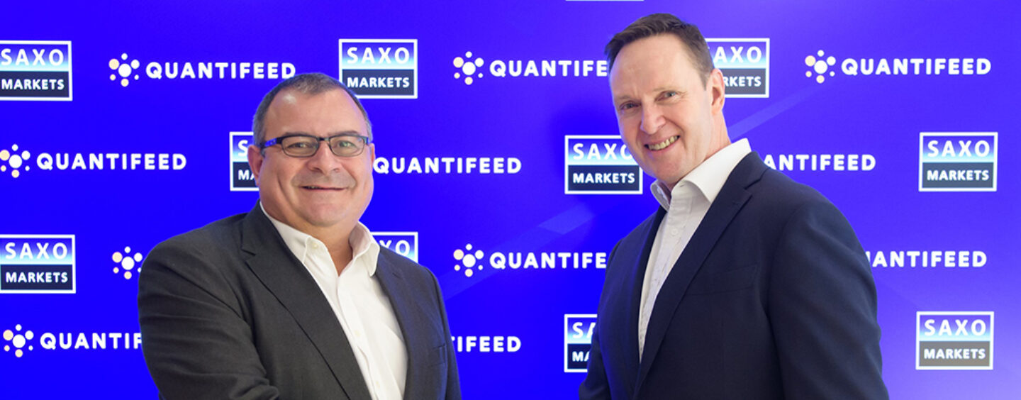 Saxo Markets and Quantifeed to Jointly Build Solution to Help The Wealth Industry Scale