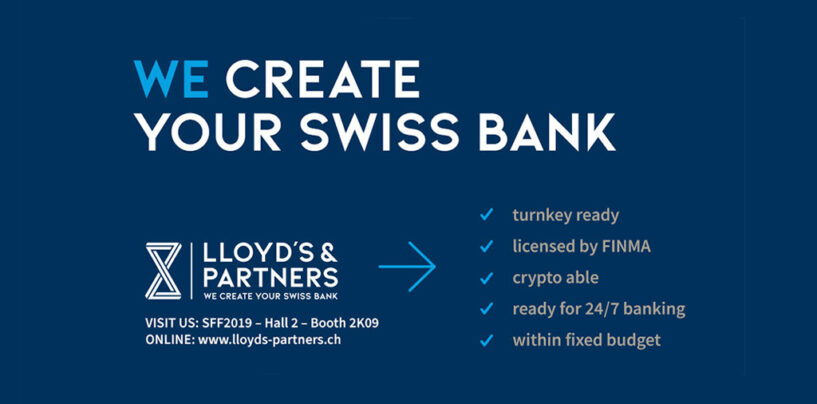 This Team Creates Your Crypto Enabled Swiss Bank Within 9 Months