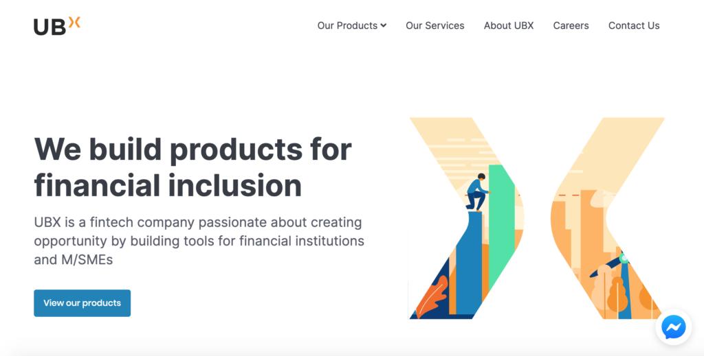 UBX homepage, ubx.ph