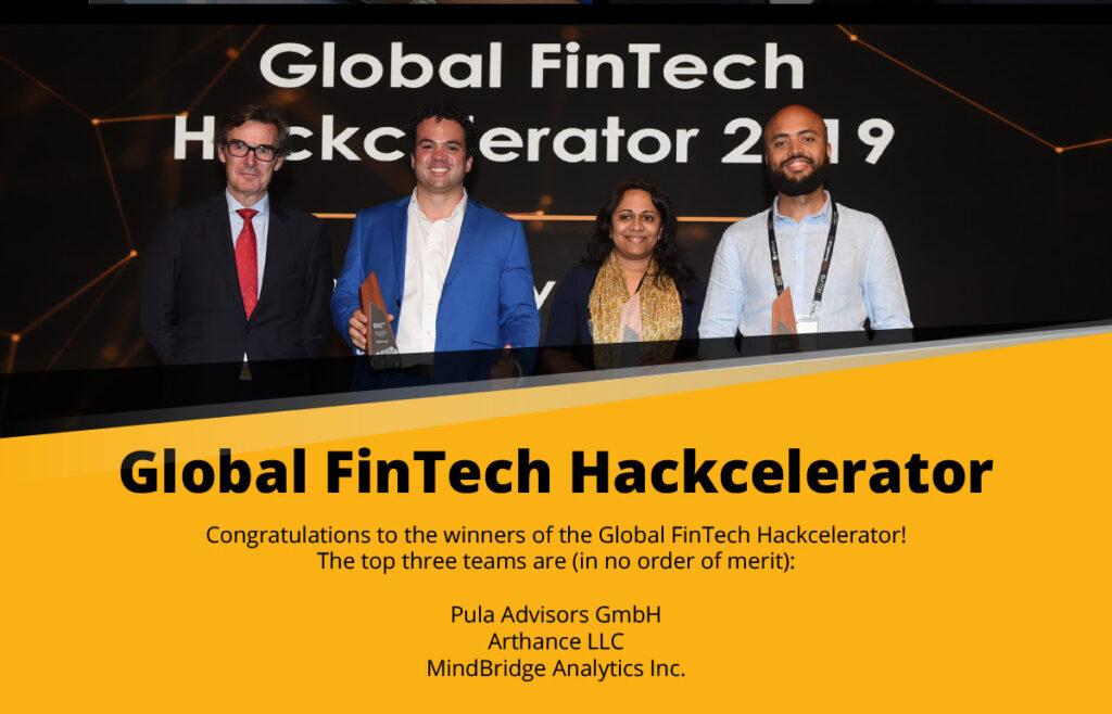 Winners Singapore Fintech Festival 2019