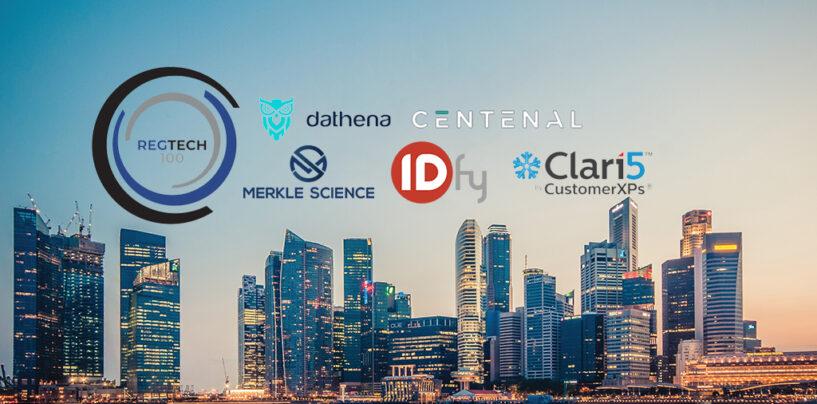 5 Asian Firms Named Top 100 Global Regtech Companies for 2020