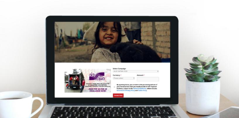 COVID-19: UnionBank's Platform Accelerates Online Donations for Philippine NGOs