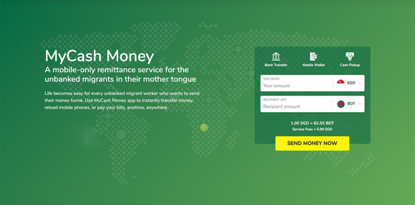MyCash Introduces Remittance Services from Singapore to Bangladesh