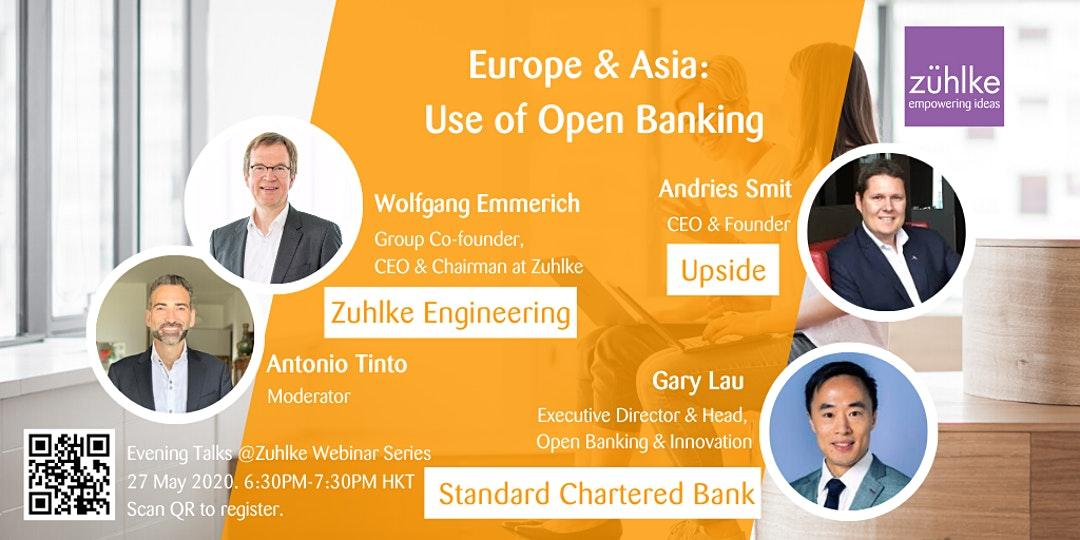 Europe & Asia- Use of Open Banking – Webinar by Zuhlke
