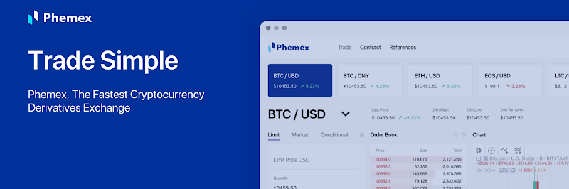 Phemex trading