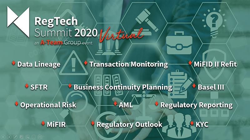 Regtech Summit 2020 Virtual
