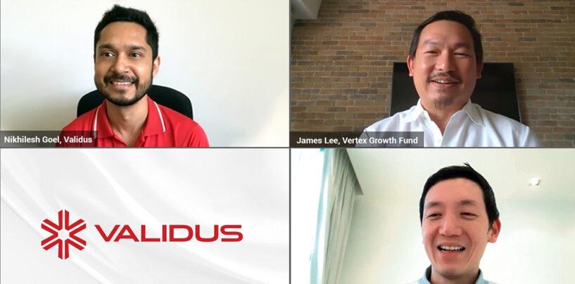 P2P Lender Validus Raises US$20 Million in Series B+ Round Led by Vertex Growth