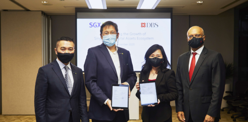 DBS Launches Crypto Services With SGX Holding a 10% Stake