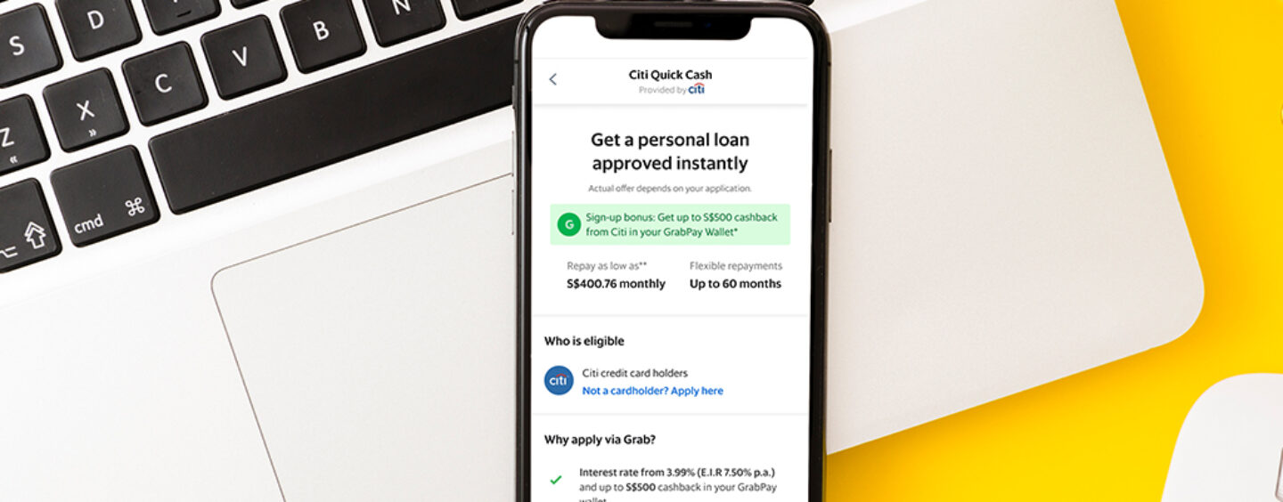 Grab Ties up With Citi to Offer in-App Loans