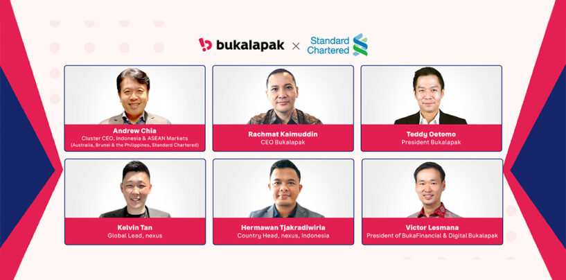 Standard Chartered Partners Bukalapak to Launch Digital Banking Offerings