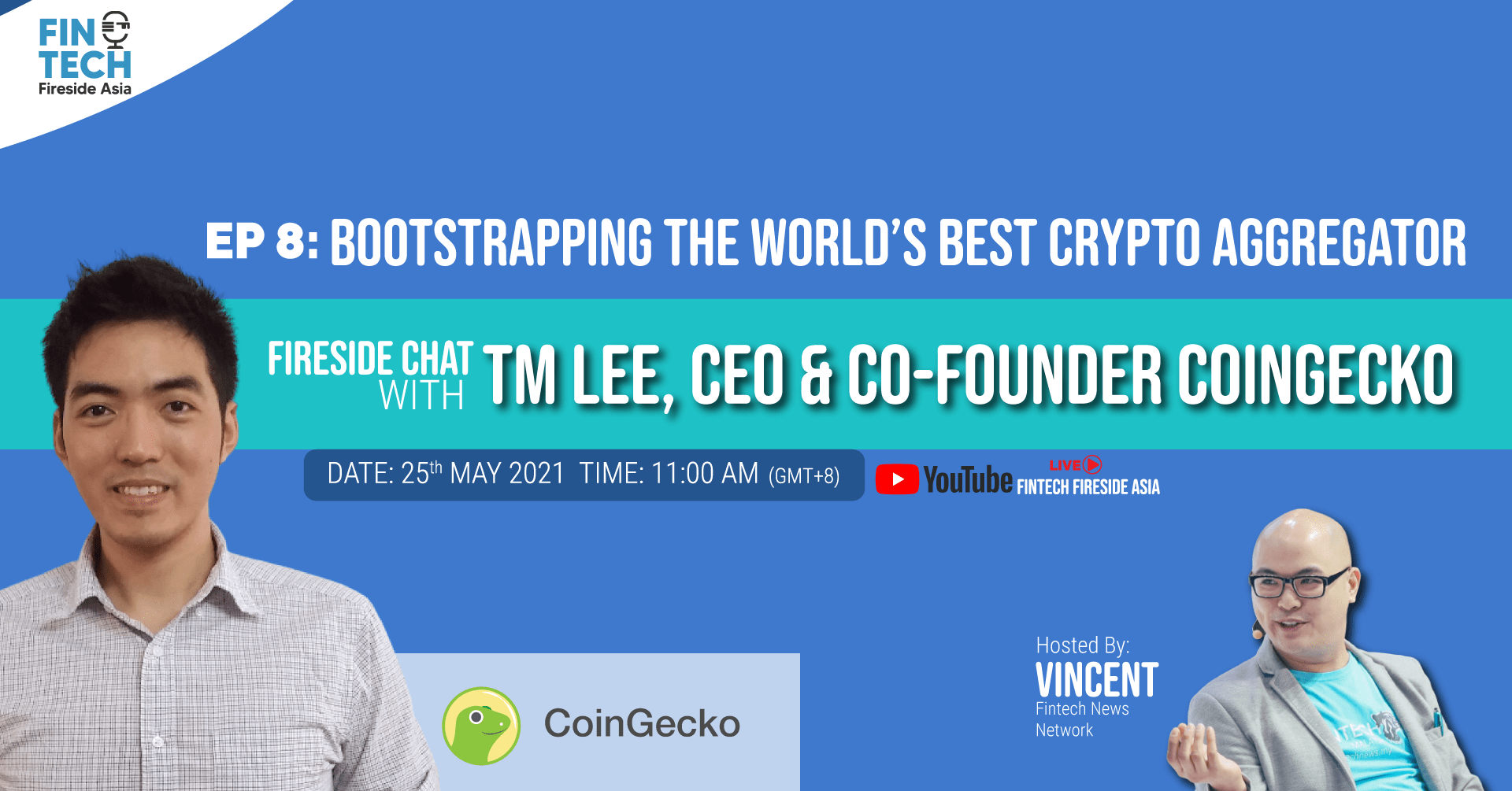 Bootstrapping the World's Best Crypto Aggregator ft. TM Lee, Co-Founder CoinGecko