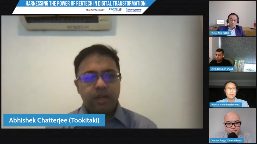 Abhishek Chatterjee, Founder and CEO of Tookitaki