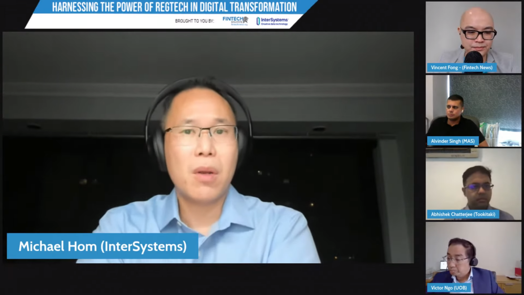 Michael Hom, Head of Financial Solutions at InterSystems