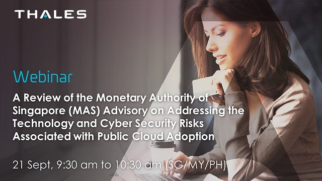A look at the Monetary Authority of Singapore's (MAS) cloud security advisory