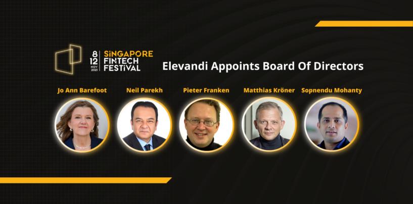 MAS' Elevandi Appoints Diverse Board of Directors to Drive Singapore Fintech Festival